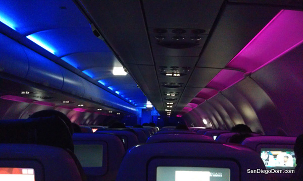 Virgin America flight