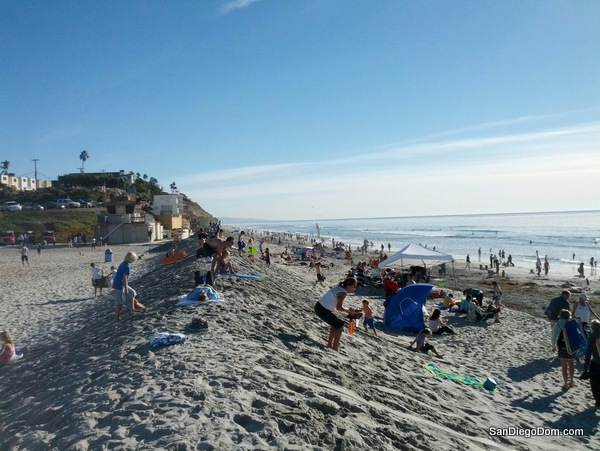Christmas sledding In Carlsbad