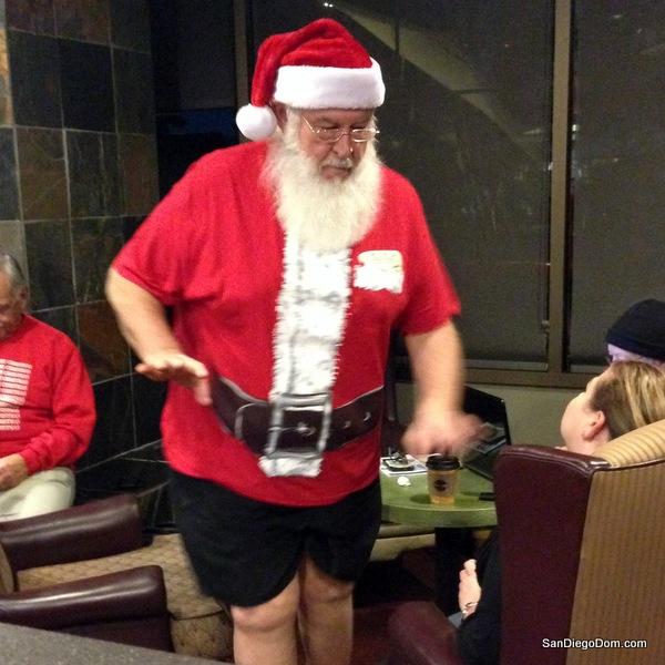 Santa in San Diego